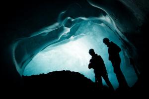 Ice cave at Vatnajökull glacier