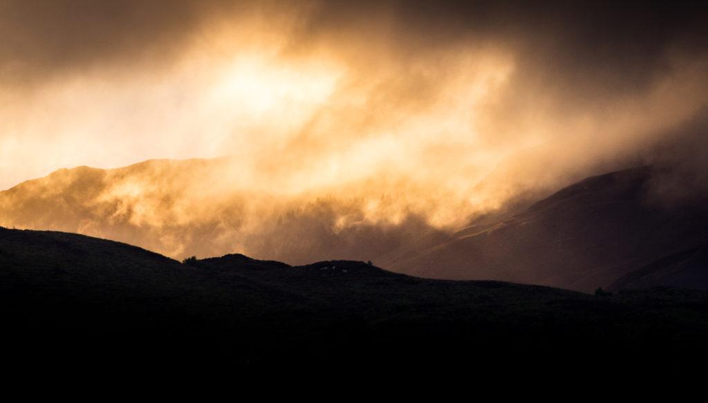 Sunset at Eilean Donan
